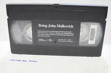 Being John Malkovich Vhs Movie