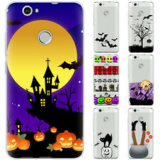 Dessana Horror Halloween Silicone Protection Cover Case Phone For Huawei