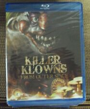 KILLER KLOWNS FROM OUTER SPACE BLU-RAY SEALED horror-comedy Chiodo Brothers