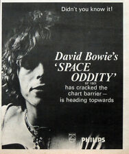 NME NEW MUSICAL EXPRESS 4 OCT 1969 DAVID BOWIE FRONT COVER & SPACE ODDITY ADVERT
