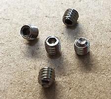 10 x M4 x4mm grub screws