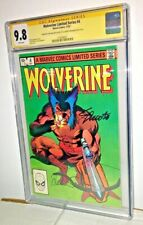 Wolverine Limited Series #4, CGC 9.8, White Pages
