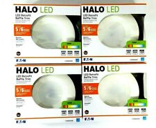 """4 Pack Eaton 5""""/6"""" Dimmable LED Recessed Downlight 3000K Lights New"""