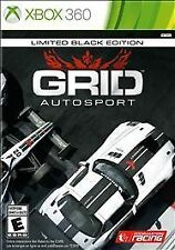 Grid Autosport: Limited Black Edition  (Xbox 360, 2014) Brand New
