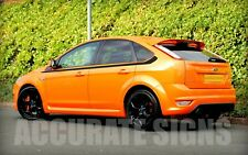 SIDE STRIPES GRAPHICS TO FIT FOCUS 5DR (PAIR) CAR DECALS STICKERS