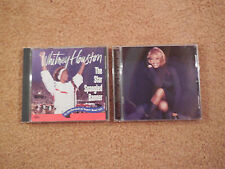 Whitney Houston 2 CD Lot - My Love Is Your Love & The Star Spangled Banner