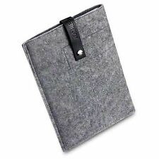 For Samsung Galaxy Tab 10.1 Handmade Felt Wool Sleeve Pouch Case Cover - Grey