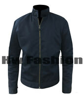 James Bond Quantum of Solace Harrington Daniel Craig Stylish Wear Cotton Jacket