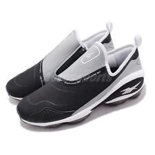 Reebok DMX Run 10 Slip On Black White Grey Zipper Men Running Shoes CN4036