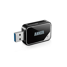 Anker� USB 3.0 Card Reader 8-in-1 for SDXC, SDHC, SD, MMC, RS-MMC, Micro SDXC,