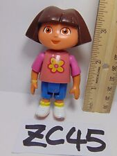 DORA THE EXPLORER TALKING DOLL HOUSE REPLACEMENT FIGURE PVC LITTLE GIRL FLOWER