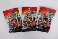 Mattel Teen Titans Go! Series 2 Mini Figure Blind Bags DC Collectible - Lot of 3