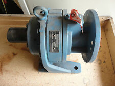 SHIMPO MODEL 40711C180BH CIRCULATE SPEED REDUCER RATIO 11:1,INPUT 15.7 1750 RPM