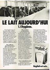 Publicité Advertising 1975 Le Lait Sec écrémé Regilait