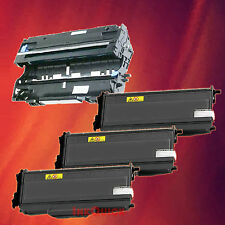 Toner Cartridge TN-360 & Drum DR-360 for Brother 4 Pack