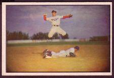 1953 BOWMAN COLOR PEEWEE REESE CARD NO:33 NEAR MINT