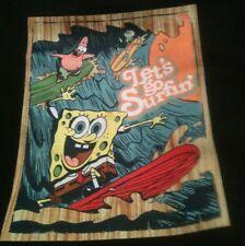 "Sponge Bob "" Let's Go Surfin' "" Boys Black T-shirt 24M New With Tags"