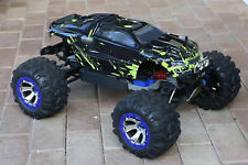 Custom Body Muddy Green for Traxxas 1/10 Summit Shell Cover 1:10 Scale