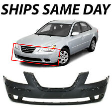 NEW Primered - Front Bumper Cover Replacement for 2009 2010 Hyundai Sonata 09-10