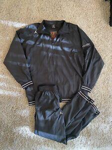 Vintage Men Air Jordan Collection Tracksuit Black XL