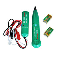 Telephone Phone Network RJ Cable Wire Line Tone Tracer Tracker Detector Test BT