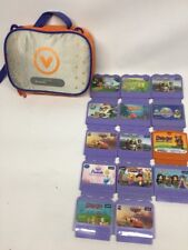 Vtech VSmile 14 Game Lot - Cars Scooby-Doo Shrek Diego Sponge Bob Lil Bratz WOW