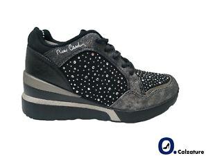 Scarpe Casual Donna Pierre Cardin Sneakers sportive con Zeppa comoda Platform