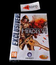 MIGHT & MAGIC HEROES VI 6 PC DVD Pal-España NUEVO Precintado Juego en Castellano