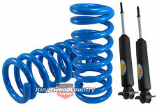Holden Coil Spring +Shock HQ HJ HX HZ WB Ute Van Ton 6cyl FRONT Super Low 50mm