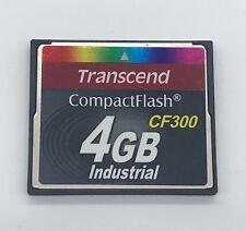 4GB Transcend 300x CompactFlash Memory Card (p/n TS4GCF300I)