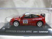 1:64 CM's CITROEN XSARA WRC 2001 Catalunya Rally Car Collection