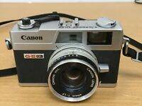 CANON CANONET QL17 G-III QL Rangefinder Camera With Canon 40mm f/1.7 (untested)