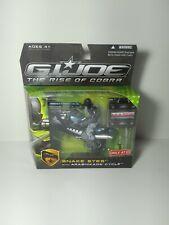 """GI Joe Snake Eyes + Arashikage Cycle Target Exclusive 3.75"""" MIB Rise Of Cobra"""