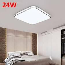 24W LED Luz Plafón cuadrado techo Lámpara de pared Luz de instalación Sala estar