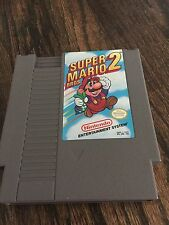 Super Mario Bros 2 Original Nintendo NES Game Cart NE3