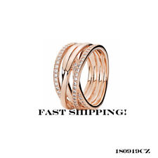 Authentic Pandora Entwined rose ring 180919CZ size 54 mm (7)