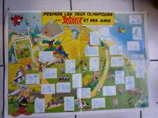 UDERZO  / ASTERIX  / COMPLET  POSTER  AVEC  25 IMAGES / LA VACHE QUI RIT  1991