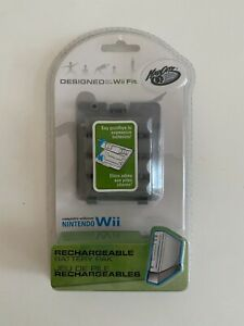 Wii Fit Nintendo Madcatz Battery Rechargeable Pack Rare New