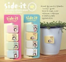 Korean Side-it Sticky Notes Bookmarker Stationery Sticker Paste Memo Pad