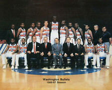 1986-87 WASHINGTON BULLETS NBA 8x10 TEAM PHOTO