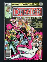 DAZZLER #2 MARVEL COMICS 1981 VF/NM NEWSSTAND EDITION