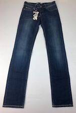 Lee Denim Womens Stretch Stovepipe Junkies Blue Denim Jeans Size 7 NWT