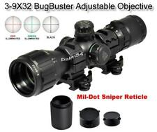 Leapers 3-9x32 CQB Bug Buster Rifle Scope Rings & Sunshade - Quick Detach Mount