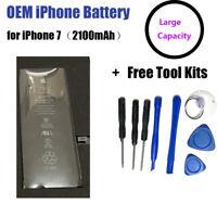 OEM Original iPhone7 Battery Large Capacity 2100mAh 0 Cycle with Tool Kits