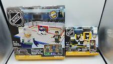 2 Oyo NHL Sedin Frederick Anderson Hockey Blocks Canucks Maple Leafs & Penguins