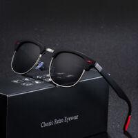 Lunettes de soleil homme femme UV 400 polarisé sunglasses vintage retro été
