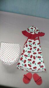Puppenkleidung Strandoutfit für Babypuppe 40-43cm