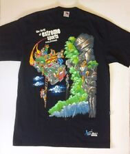 "Dibuho ""The Thrill of Extreme Sports"" Philippines Large Hand Painted T Shirt"