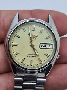 Vintage Seiko 7s26_6000 Automatic  mens Watch japan made 21jewels #w1
