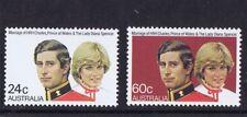 Australian Decimal Stamps 1981 Royal Wedding (Set 2) MNH